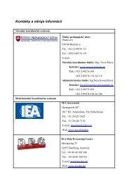 Kontakty a zdroje informácií - Štátny pedagogický ústav