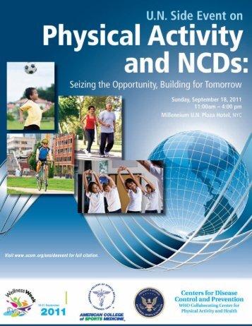 UN Side Event Report - American College of Sports Medicine