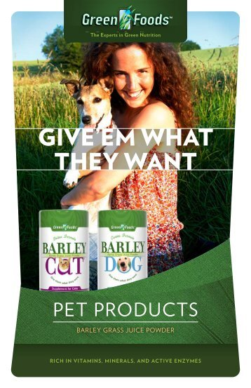 Pet Products Info