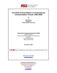 The Ninth Annual Report on Schoolhouse Commercialism Trends ...