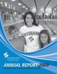 ANNUAL REPORT 2009 - Lifesaving Society