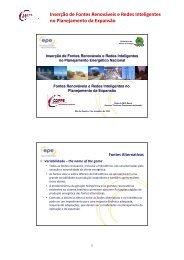 Pedro David - PPE - Programa de Planejamento Energético