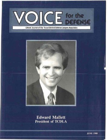 Criminal - Voice For The Defense Online