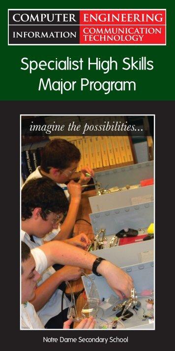 Specialist High Skills Major Program - Employer Registry