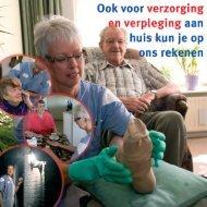 Verzorging en verpleging aan huis - Zorggroep Oude en Nieuwe Land