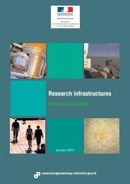 Research Infrastructures 2012- 2020 roadmap - Ministère de l ...