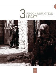 Section 3 - Special Inspector General for Afghanistan Reconstruction