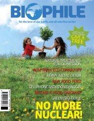 BIOP HILE 19 — DEC 07/JAN 08 — R25 - Biophile Magazine