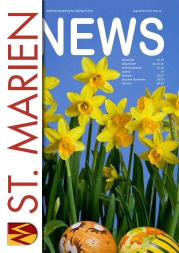 Folge 668 / April 2012 - St. Marien - Land Oberösterreich