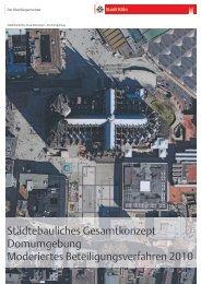 Broschüre Städtebauliches Gesamtkonzept ... - Stadt Köln