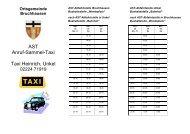 AST Anruf-Sammel-Taxi Taxi Heinrich, Unkel