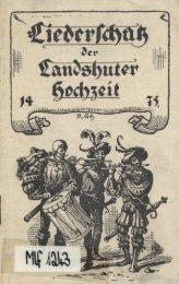 3. Landsknechtslied. - in der Staatlichen Bibliothek Passau