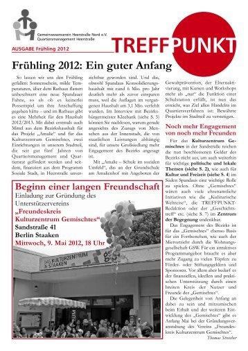Treffpunkt Frühling 2012 - staaken.info