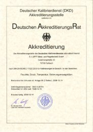 Deutscher Kalibrierdienst - Lufft GmbH