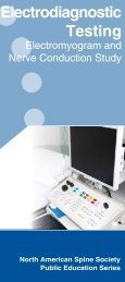 Electrodiagnostic Testing - KnowYourBack.org