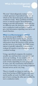Electrodiagnostic Testing - KnowYourBack.org - Page 3