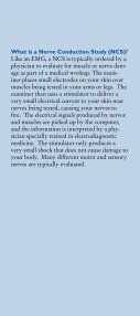 Electrodiagnostic Testing - KnowYourBack.org - Page 4