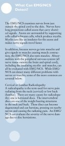 Electrodiagnostic Testing - KnowYourBack.org - Page 6