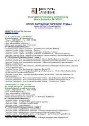 Scuole Statali - anno 2010/2011 - Provincia di Varese