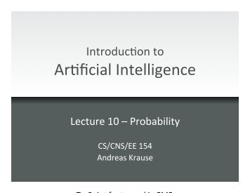 Probability - Caltech
