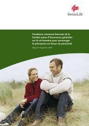 Fondation commune bernoise de la Société suisse d ... - Swiss Life