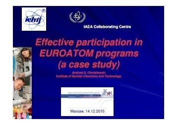 (Microsoft PowerPoint - Andrzej Chmielewski ... - NUCL-EU Project