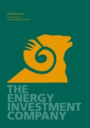 to view full Report (PDF format) - SeaEnergy PLC