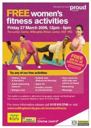 FREE Women's Fitness Day Leaflet - email version.pdf - Nottingham ...