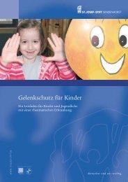 Gelenkschutz für Kinder - St. Josef-Stift Sendenhorst