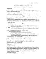 Tehnički pravilnik za karting sport 2013 - bihamk