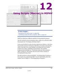 Using Scripts - mipav