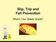 Slip, Trip and Fall Prevention - Topeka Public Schools