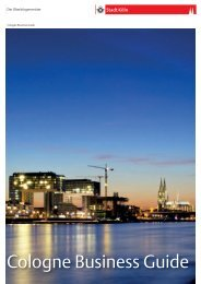 Cologne Business Guide.indd - Stadt Köln