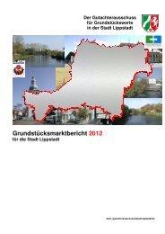 Grundstücksmarktbericht 2012 - Lippstadt