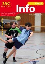 Info1-2012 - Sport und Schwimmclub Karlsruhe eV