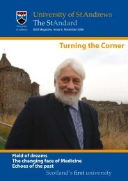 Turning the Corner - University of St Andrews