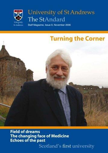 Turning the Corner - University of St Andrews