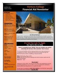 April/May 2013 - Ventura College
