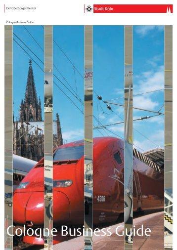 Cologne Business Guide - Stadt Köln