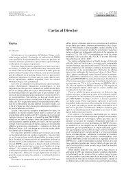 Réplica (...heparinas de bajo peso molecular en la profilaxis del ...