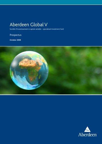 Aberdeen Global V - Aberdeen Asset Management