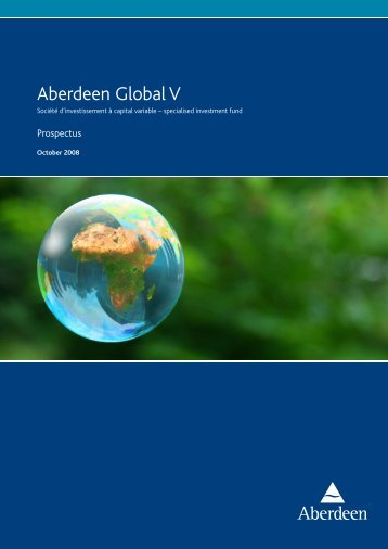 Aberdeen Global V - Aberdeen Asset Management