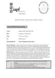 Download Flyer & Reservation Form - Irish Association of Pension ...