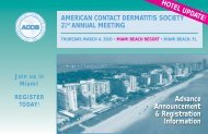 Advance Announcement & Registration Information - American ...