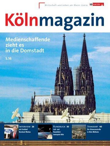 Köln Magazin 1/2010 - Stadt Köln
