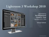 Lightroom 3 workshop-vck.pdf - Ridgewood Camera Club