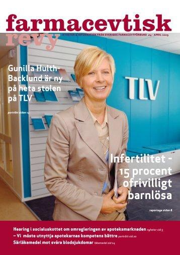 Farmacevtisk Revy 090403 - Karolinska Institutet