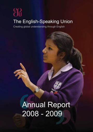 ar0809 - The English-Speaking Union