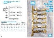 EWE- Verteiler- System GBM Typ EPZ