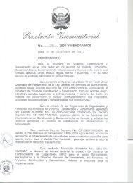Resolución Viceministerial N° 005-2008-VIVIENDA/VMCS